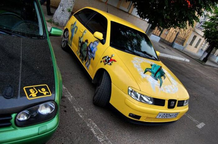 The Car of a Futurama Fan 2