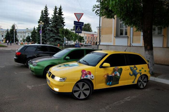 The Car of a Futurama Fan 3