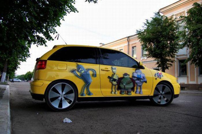 The Car of a Futurama Fan 4