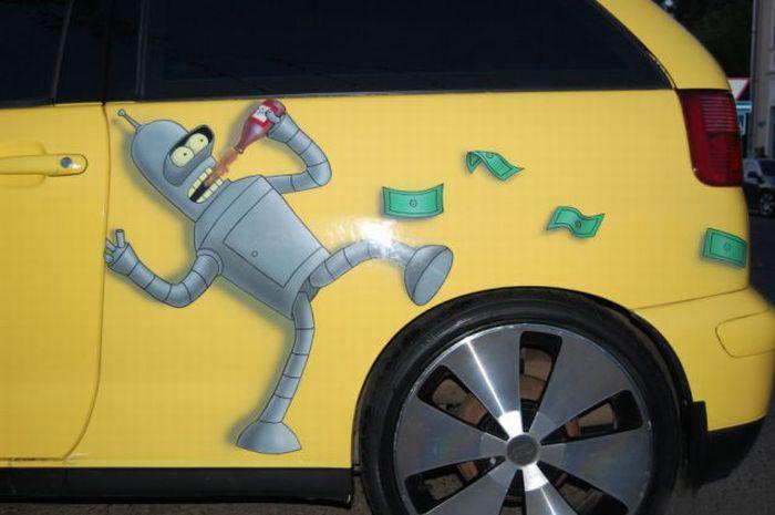 The Car of a Futurama Fan 5