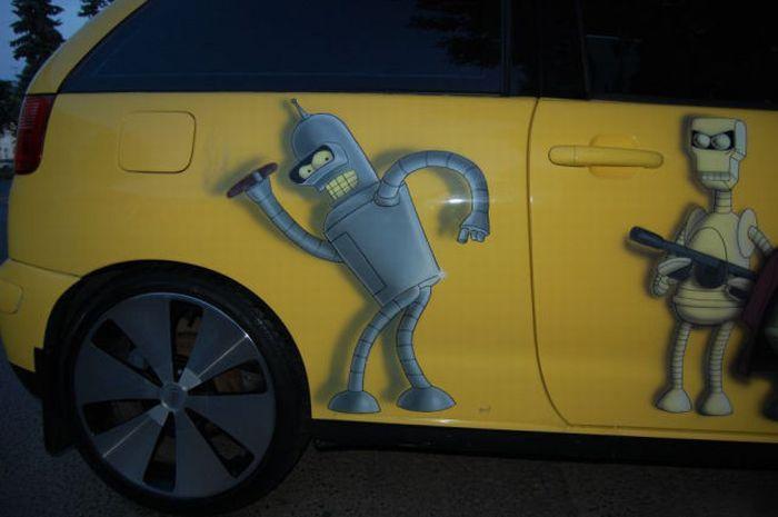 The Car of a Futurama Fan 6