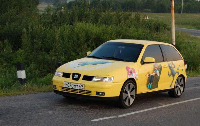 The Car of a Futurama Fan 7