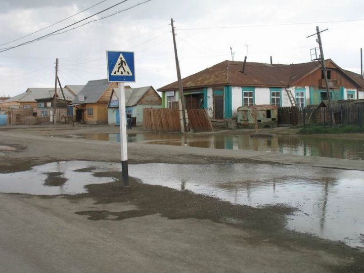 the driest inhabited place in Russian Federation 19