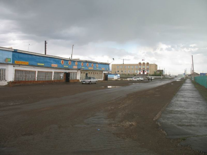 the driest inhabited place in Russian Federation 34