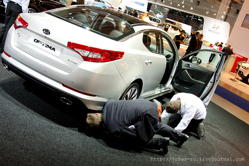 The Moscow International Automobile Show 2010 10