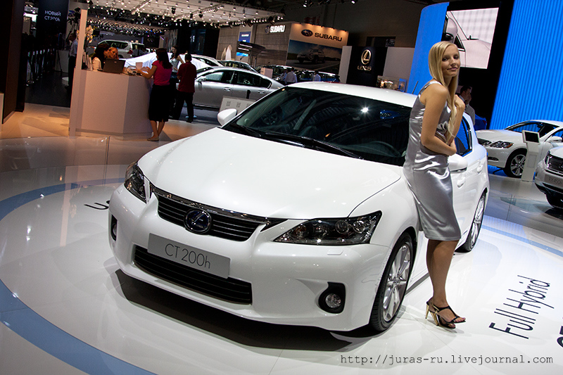 The Moscow International Automobile Show 2010 13