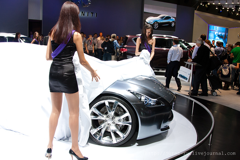The Moscow International Automobile Show 2010 7