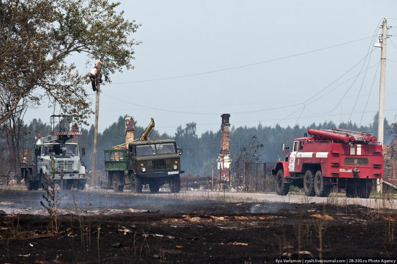 The Moscow Region On Fire 58