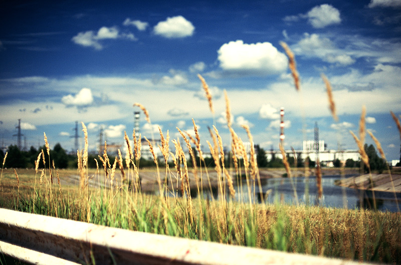 The Sky Over Chernobyl Nuclear Power Plant 1