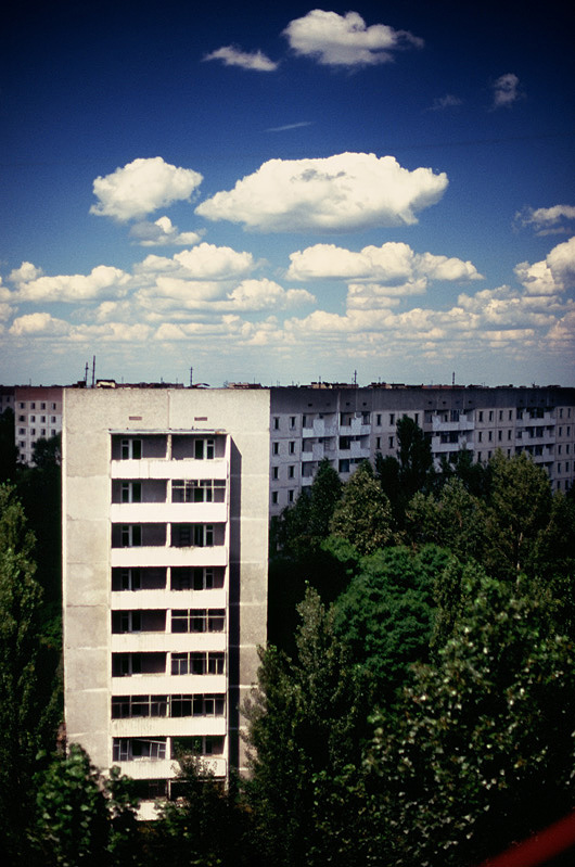 The Sky Over Chernobyl Nuclear Power Plant 15