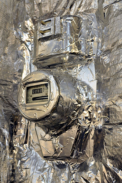 Russian tin foil hut 3