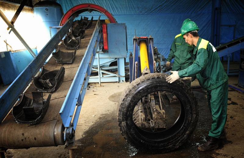 Tires Utilization Factory 10