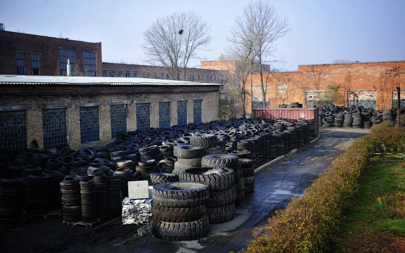 Tires Utilization Factory 2
