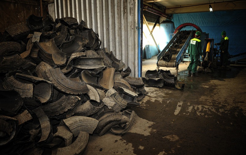 Tires Utilization Factory 9