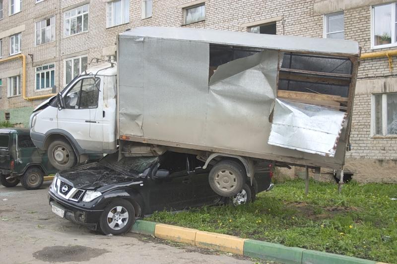 Tornado in Russia