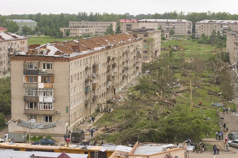 Tornado in Russia 1