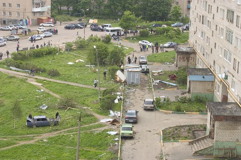 Tornado in Russia 4