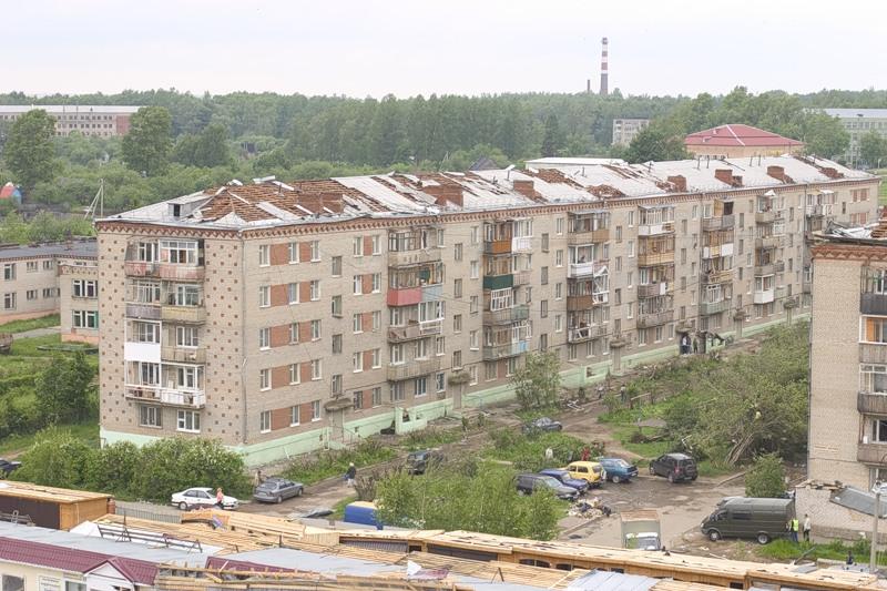 Tornado in Russia 5