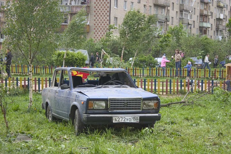 Tornado in Russia 7