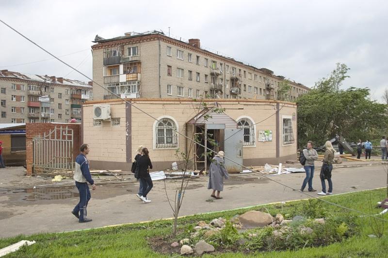 Tornado in Russia 8