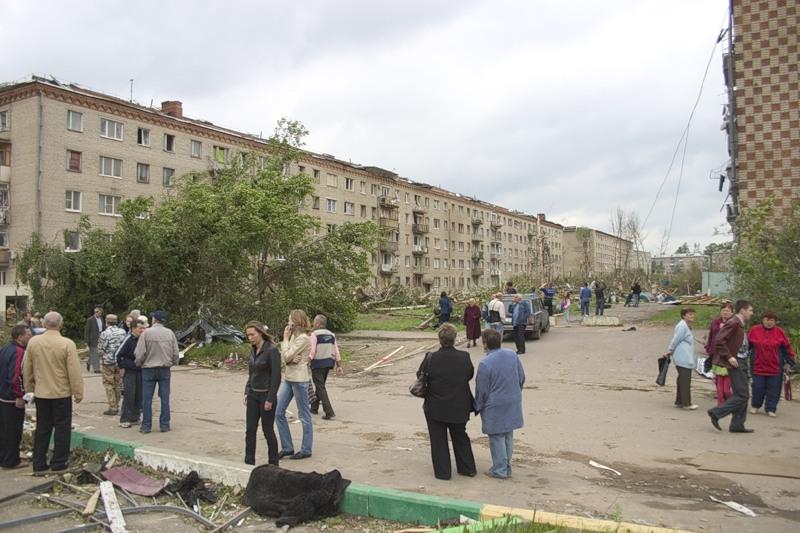 Tornado in Russia 9