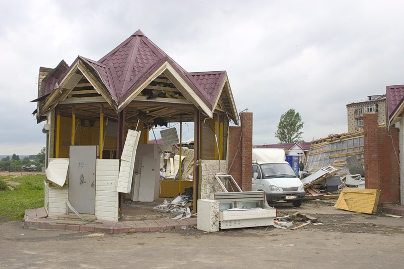 Tornado in Russia 11