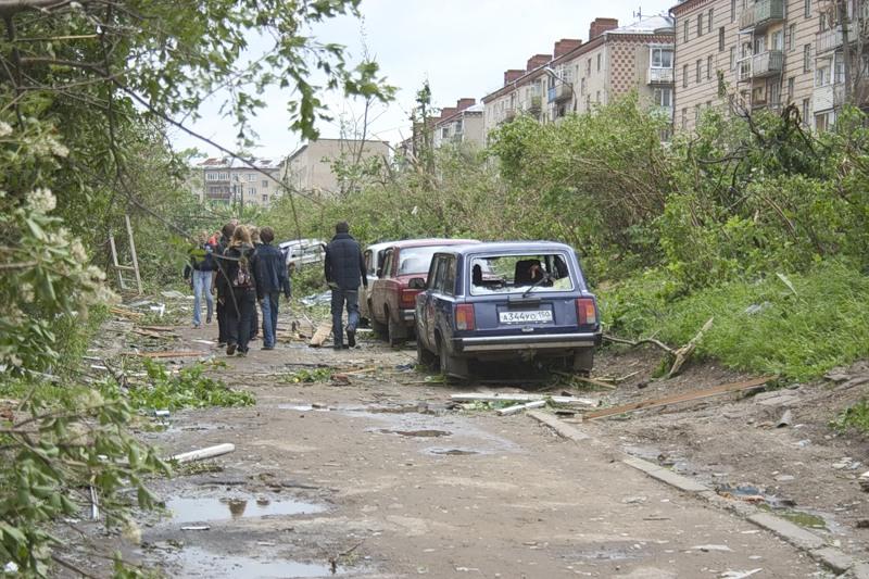 Tornado in Russia 14