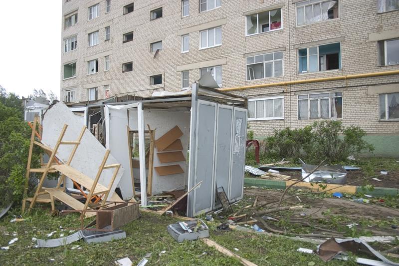 Tornado in Russia 16