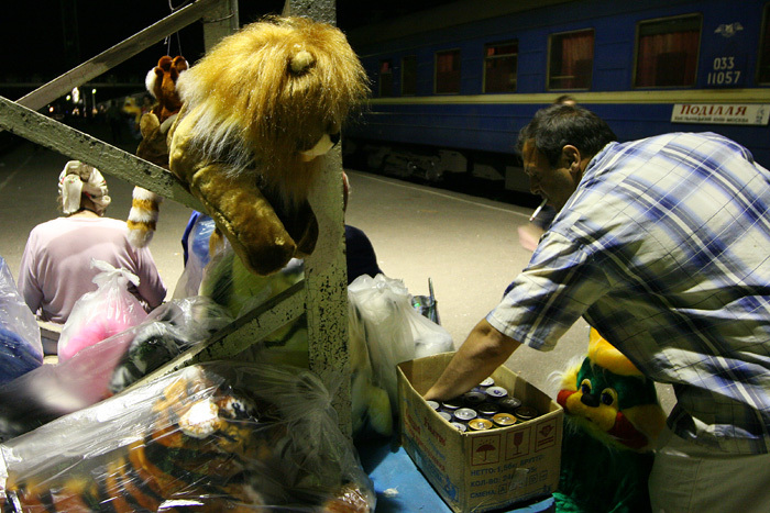 Russian toys sold to train passengers 10