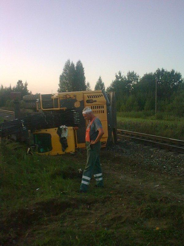 Russian train in Latvia 2