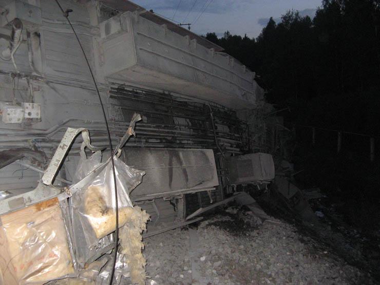 train wrecked in Russia 12