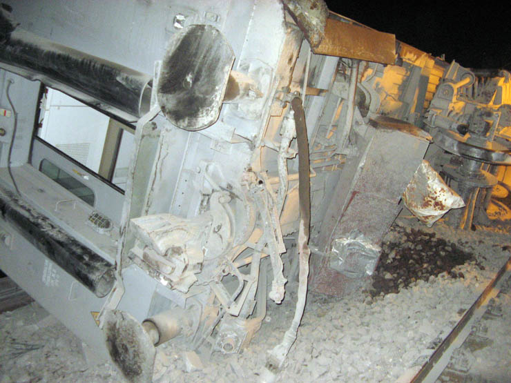 train wrecked in Russia 6