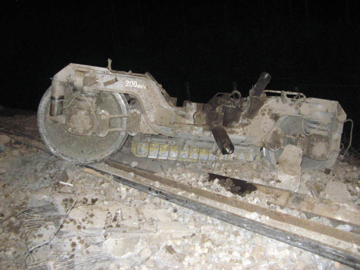 train wrecked in Russia 9