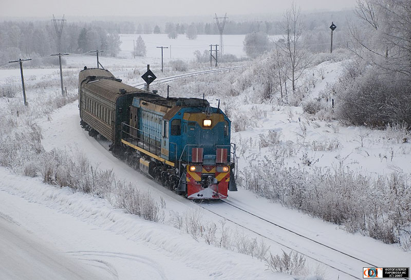 Russian trains 29