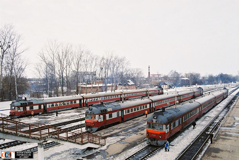 Russian trains 43