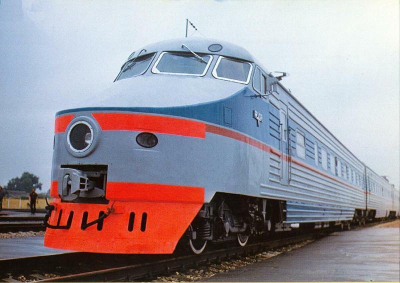 Russian trains 61