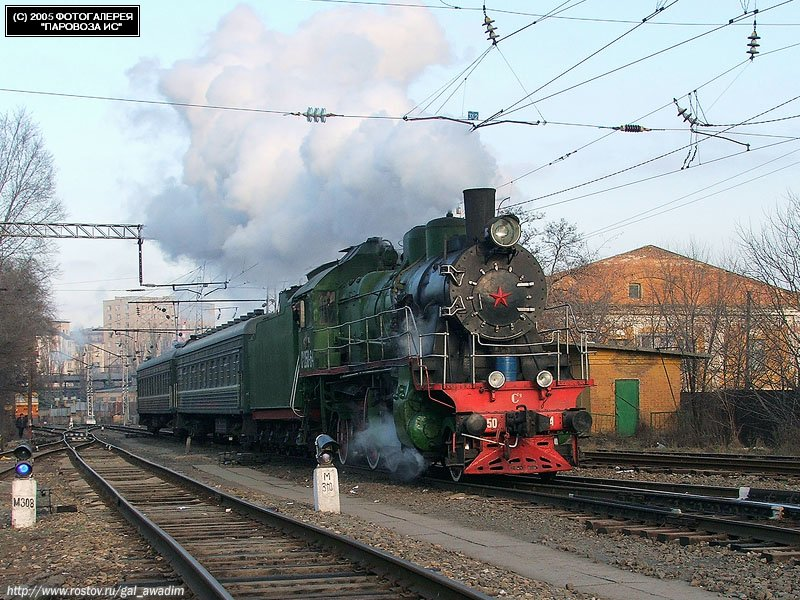 Russian trains 65