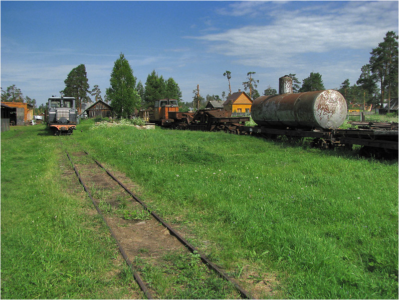 Trains in Russia 9