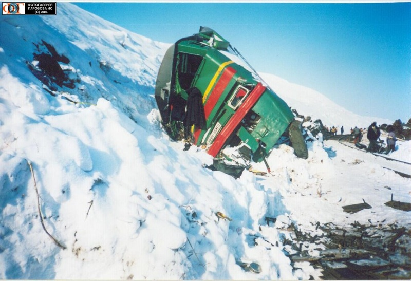 Russian trains crash