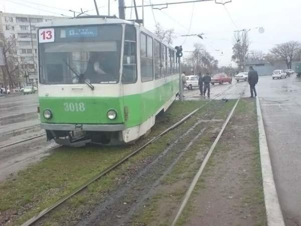 Russian tram
