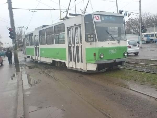 Russian tram 3