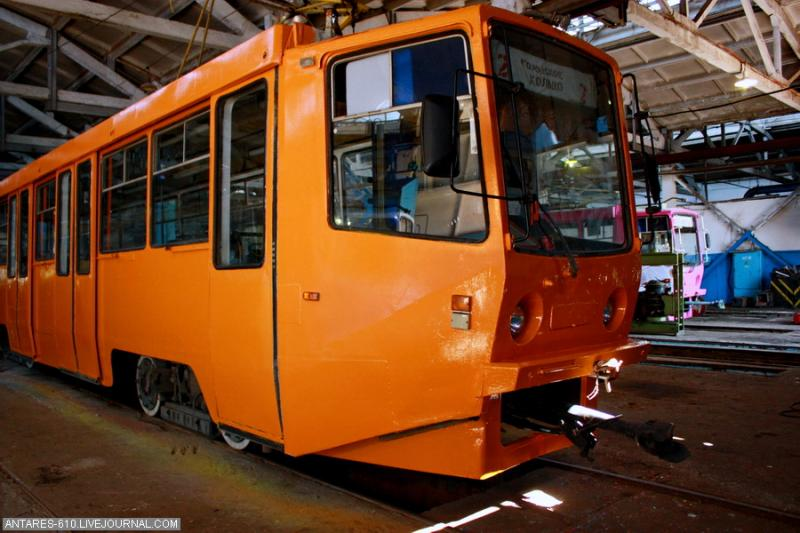 Tramway Depot In Nizhny Novgorod 15