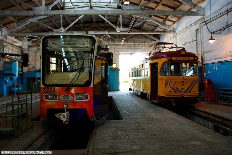 Tramway Depot In Nizhny Novgorod 17