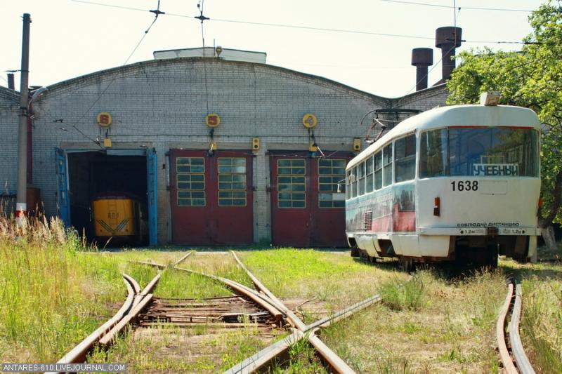 Tramway Depot In Nizhny Novgorod 3