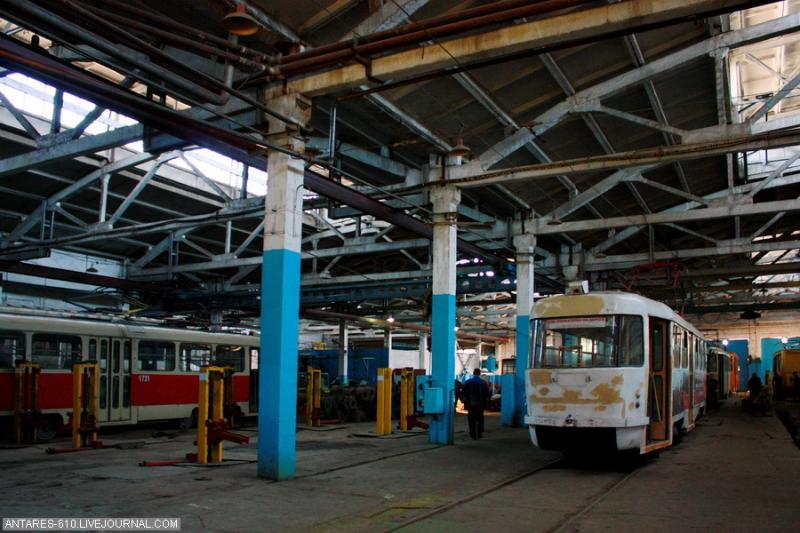 Tramway Depot In Nizhny Novgorod 4