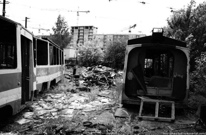 Trolleybuses Cemetery 13