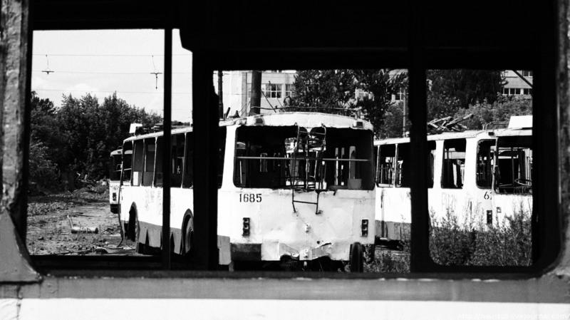 Trolleybuses Cemetery 4