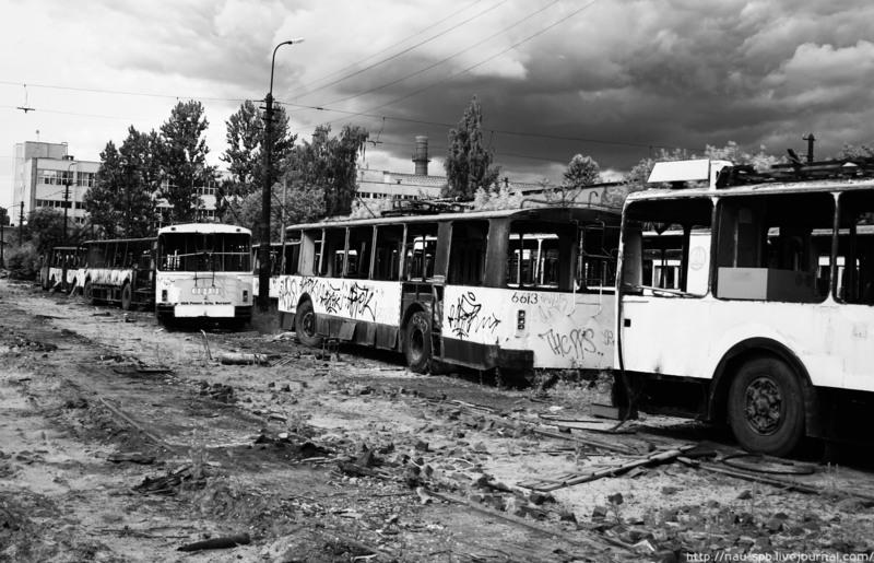 Trolleybuses Cemetery 5
