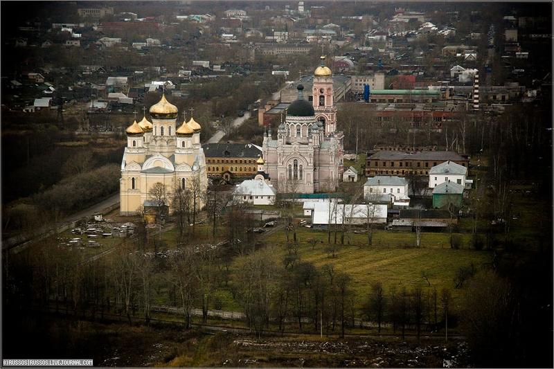Russian city Tver, air shots 5
