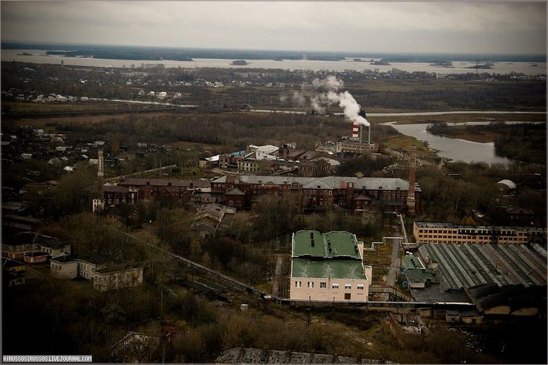 Russian city Tver, air shots 6